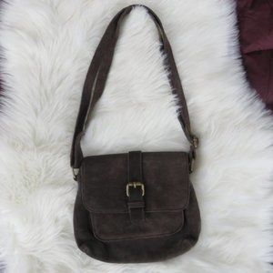 FatFace UK Leather Crossbody Bag.